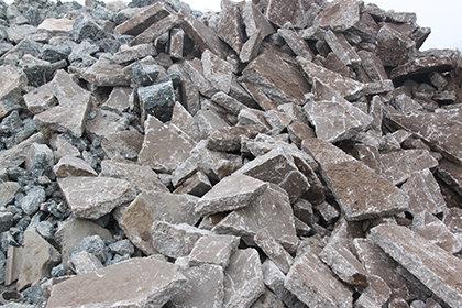 betonpuin afvalcontainer
