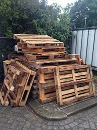 Pallets afvalcontainer