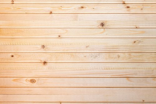 Ongeverfd hout afvalcontainer