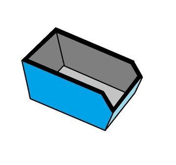10 m3 container bakstenen afval