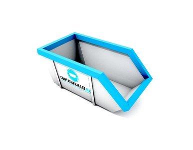 3 m3 container papier en karton afval