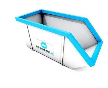 10 m3 container papier en karton afval