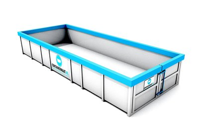 12 m3 container rest afval